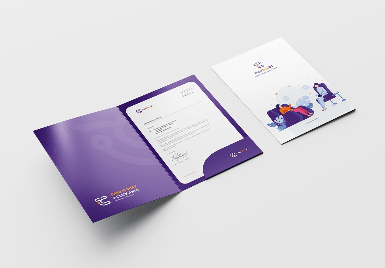 TrueCare2U - Folder Design