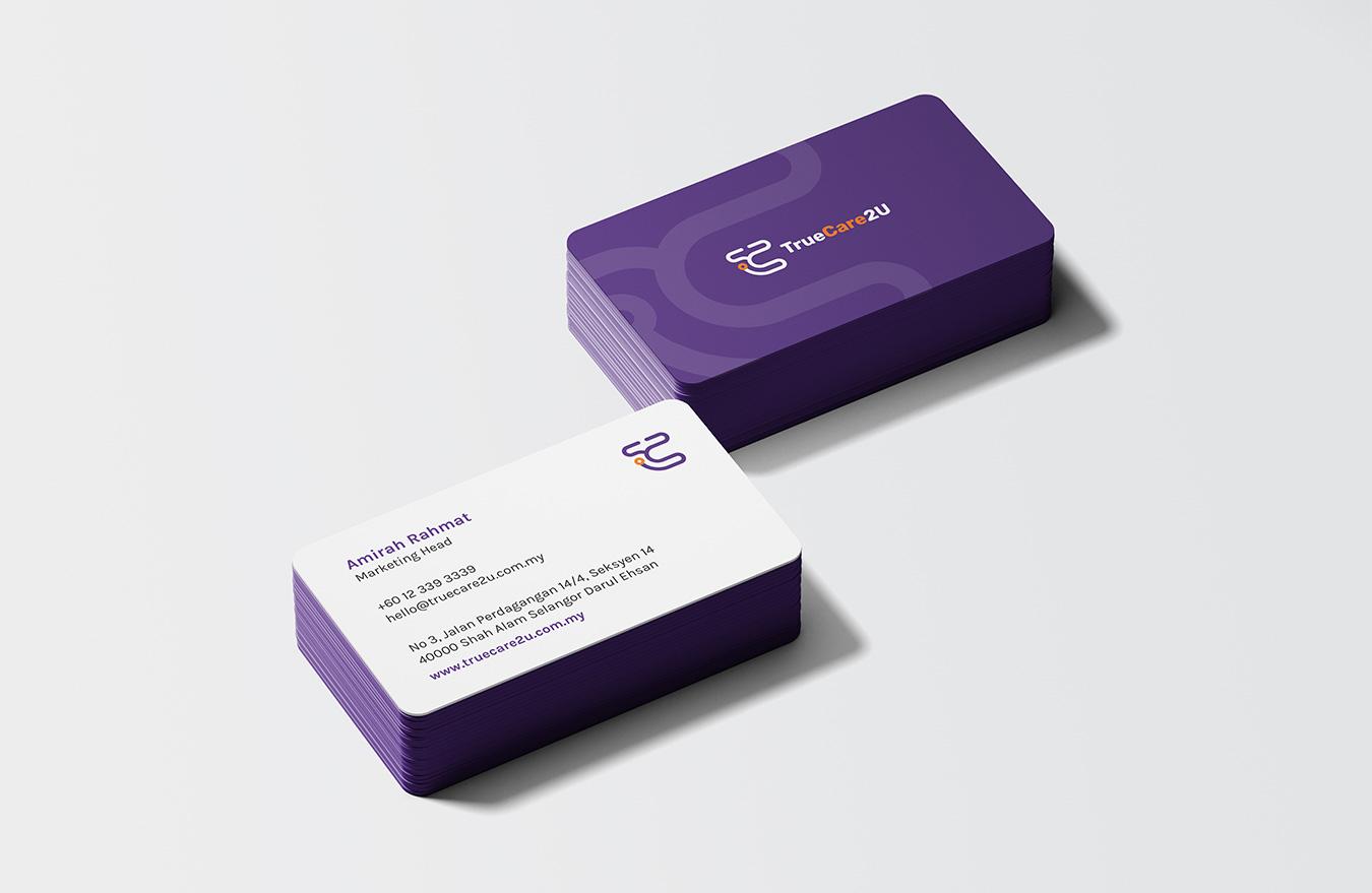 TrueCare2U - Business Cards